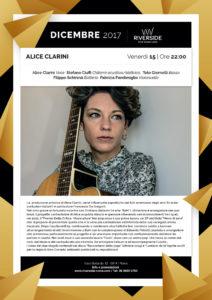 Alice Clarini Live at Riverside
